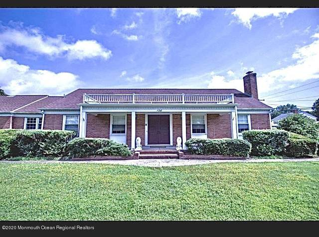 136 Princeton Avenue, Brick, NJ 08724 (MLS #22026545) :: The Sikora Group