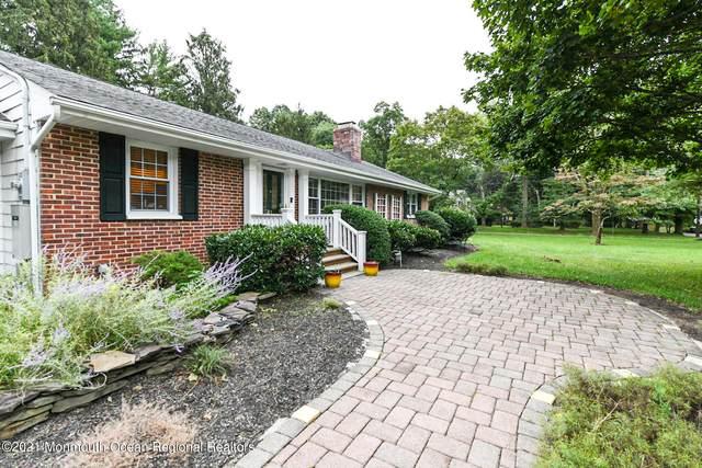 41 Oak Street, Lincroft, NJ 07738 (MLS #22131969) :: The MEEHAN Group of RE/MAX New Beginnings Realty