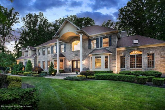4 Boxwood Terrace, Holmdel, NJ 07733 (MLS #21801844) :: The Dekanski Home Selling Team