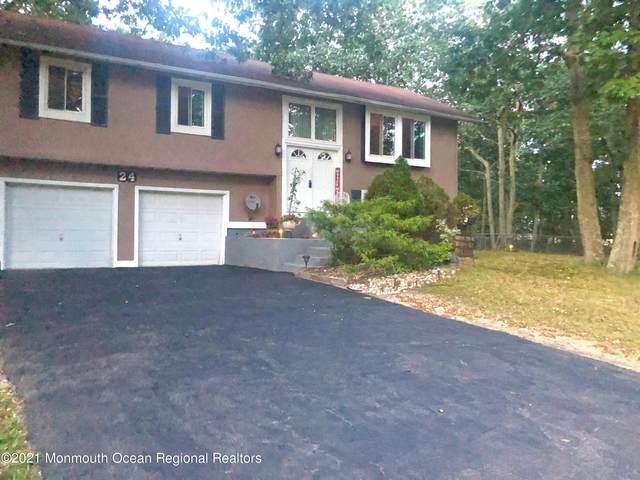 24 Buckingham Drive, Jackson, NJ 08527 (MLS #22120040) :: The Sikora Group