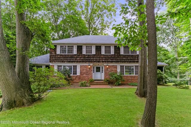7 Fieldcrest Court, Holmdel, NJ 07733 (#22125957) :: Rowack Real Estate Team