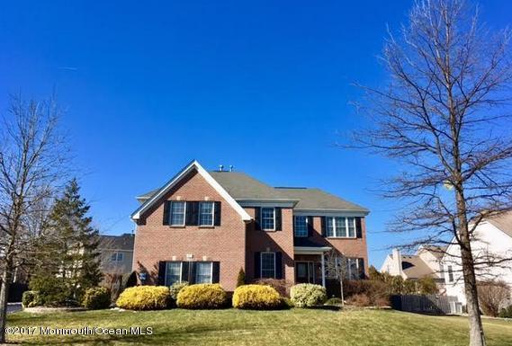 93 Princeton Oval, Freehold, NJ 07728 (MLS #21709421) :: The Dekanski Home Selling Team