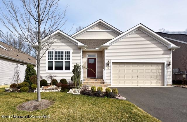 75 Wintergreen Drive, Manalapan, NJ 07726 (MLS #21711270) :: The Dekanski Home Selling Team