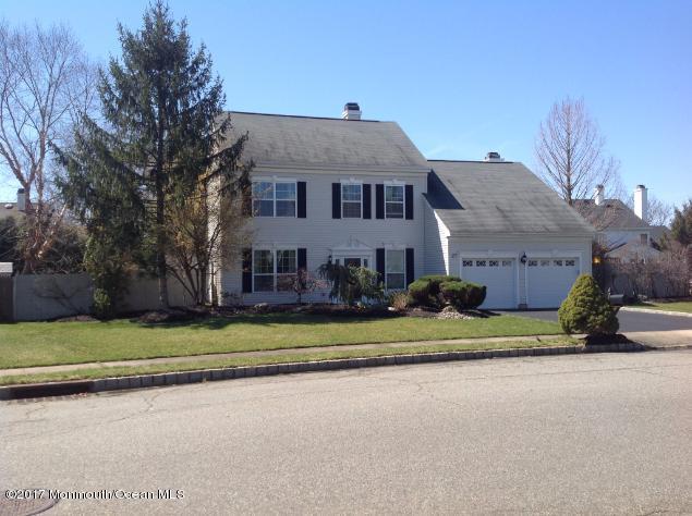 27 Villanova Drive, Freehold, NJ 07728 (MLS #21712512) :: The Dekanski Home Selling Team