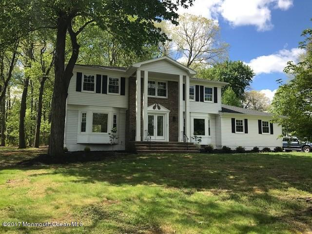 3 Thomas Drive, Manalapan, NJ 07726 (MLS #21718577) :: The Dekanski Home Selling Team