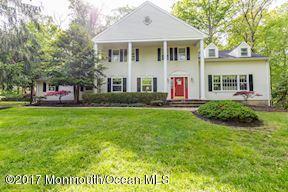 16 Ridge Road, Colts Neck, NJ 07722 (MLS #21718967) :: The Dekanski Home Selling Team