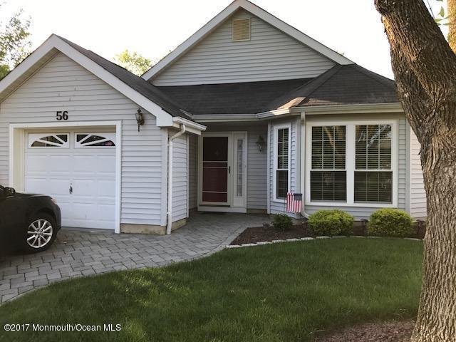56 Hazel Drive, Freehold, NJ 07728 (MLS #21721322) :: The Dekanski Home Selling Team