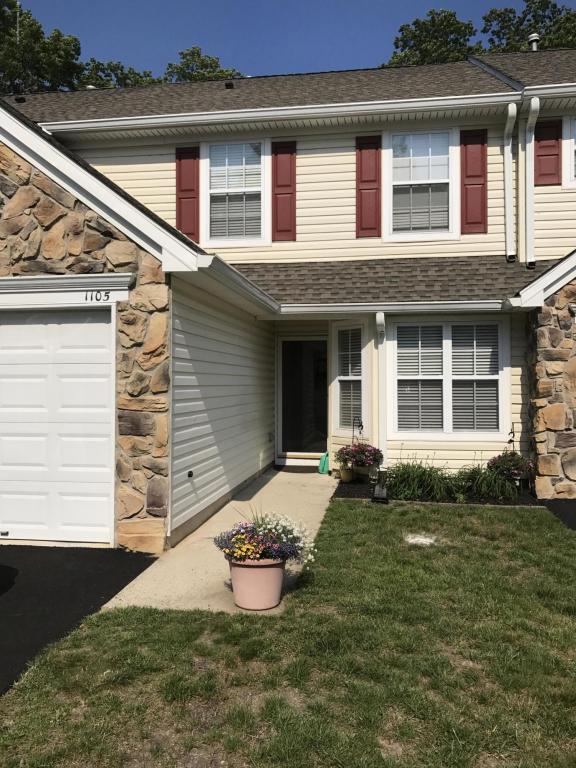 1105 Gardenia Drive, Brick, NJ 08724 (MLS #21723310) :: The Dekanski Home Selling Team