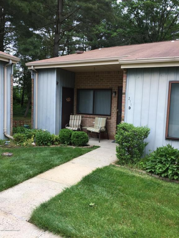 211 Covered Bridge Boulevard D, Manalapan, NJ 07726 (MLS #21723562) :: The Dekanski Home Selling Team