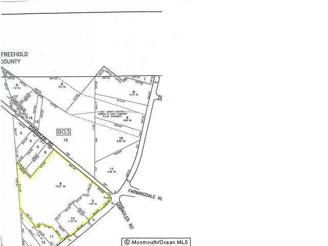 Lot 10 Chandler Road Lot 10, Jackson, NJ 08527 (MLS #21724408) :: The MEEHAN Group of RE/MAX New Beginnings Realty