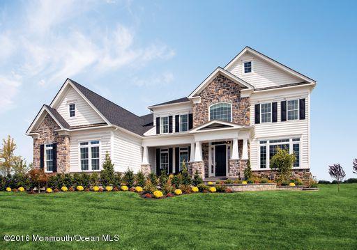 10 Exeter Way, Holmdel, NJ 07733 (MLS #21738693) :: The Dekanski Home Selling Team