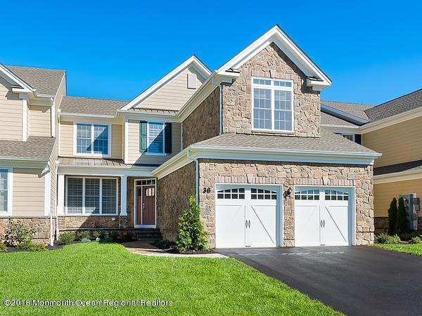 15 Lennox Court, Holmdel, NJ 07733 (MLS #21841308) :: The Dekanski Home Selling Team
