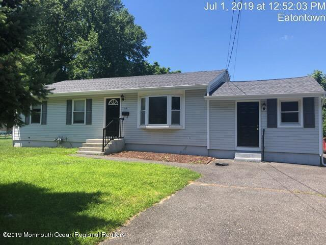 231 Wyckoff Road, Eatontown, NJ 07724 (MLS #21928959) :: The Dekanski Home Selling Team