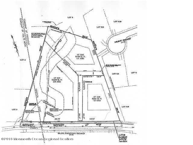 530 Burlington Road #3, Freehold, NJ 07728 (MLS #21929608) :: The CG Group | RE/MAX Real Estate, LTD