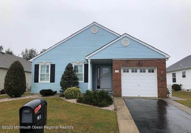 103 Portsmouth Drive, Toms River, NJ 08757 (MLS #22007726) :: William Hagan Group
