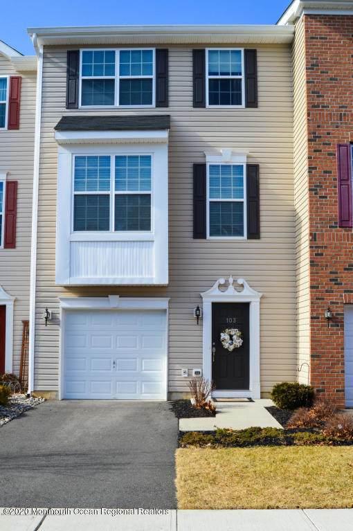103 Warbler Way, Freehold, NJ 07728 (MLS #22016596) :: William Hagan Group