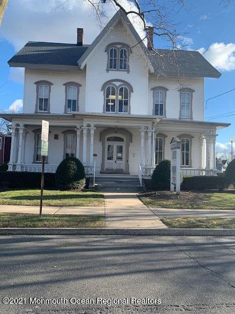 64 W Main Street, Freehold, NJ 07728 (MLS #22102337) :: The Sikora Group