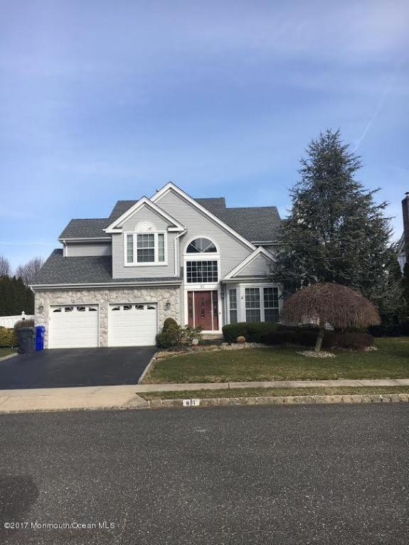 81 Nicole Drive, Brick, NJ 08724 (MLS #21710193) :: The Dekanski Home Selling Team