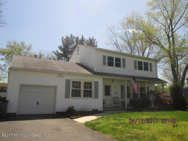 54 Old Queens Boulevard, Manalapan, NJ 07726 (MLS #21714556) :: The Dekanski Home Selling Team