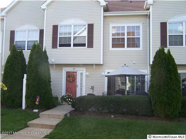 63 Winged Foot Court #1000, Howell, NJ 07731 (MLS #21726707) :: The Dekanski Home Selling Team