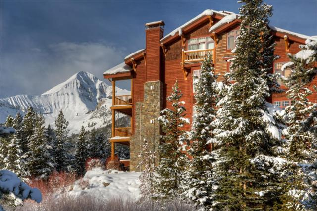 7 Sitting Bull Road 2301-A, Big Sky, MT 59716 (MLS #310879) :: Black Diamond Montana