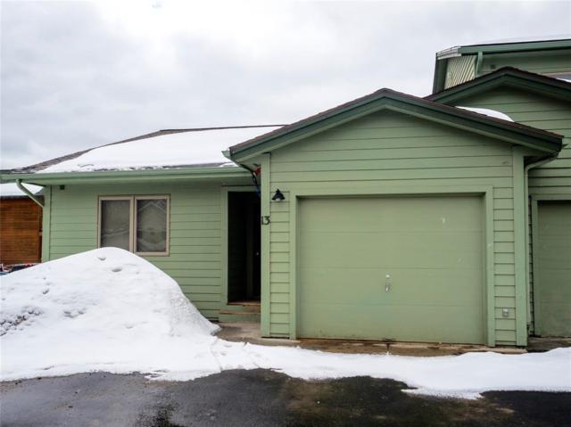 80 Aspen Leaf Drive #13, Big Sky, MT 59716 (MLS #317583) :: Black Diamond Montana   Berkshire Hathaway Home Services Montana Properties