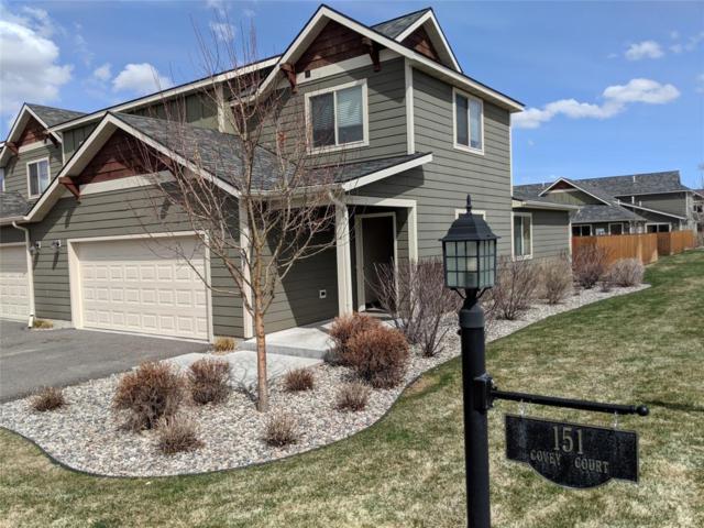151 Covey Court A, Bozeman, MT 59718 (MLS #317843) :: Black Diamond Montana | Berkshire Hathaway Home Services Montana Properties