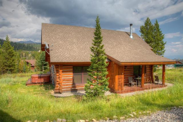 22 Moose Ridge, Cabin #7 Road, Big Sky, MT 59716 (MLS #321775) :: Hart Real Estate Solutions