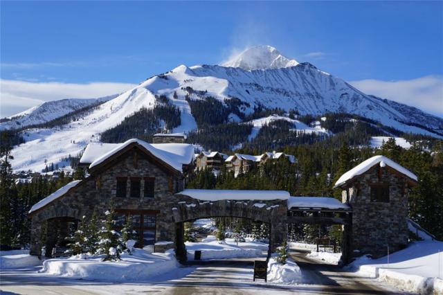 126 Diamond Hitch Road Road, Big Sky, MT 59716 (MLS #326373) :: Black Diamond Montana