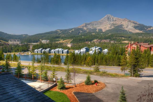2B Summit View Road 301B, Big Sky, MT 59716 (MLS #326586) :: Hart Real Estate Solutions