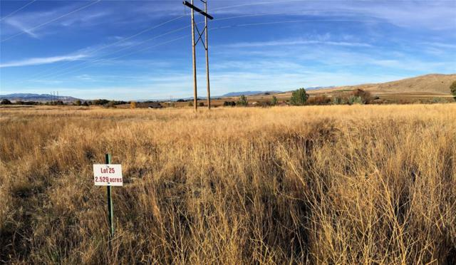 Lot 25 Missouri River Rendevous, Toston, MT 59643 (MLS #327129) :: Hart Real Estate Solutions