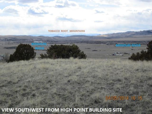 950 Green Acres (Lot 553) Road, Three Forks, MT 59752 (MLS #328575) :: Hart Real Estate Solutions
