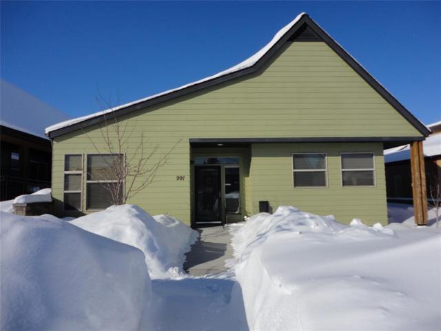 991 Josephine, Bozeman, MT 59715 (MLS #333875) :: Hart Real Estate Solutions