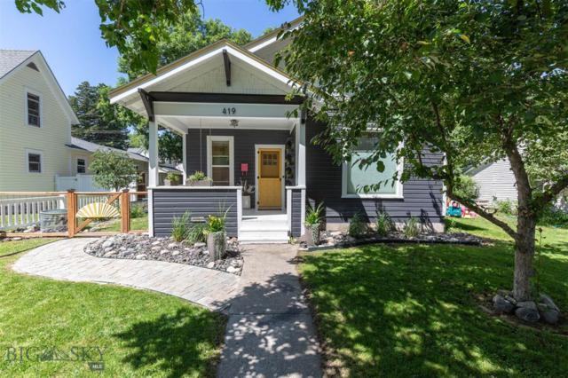 419 S Tracy, Bozeman, MT 59715 (MLS #337478) :: Hart Real Estate Solutions