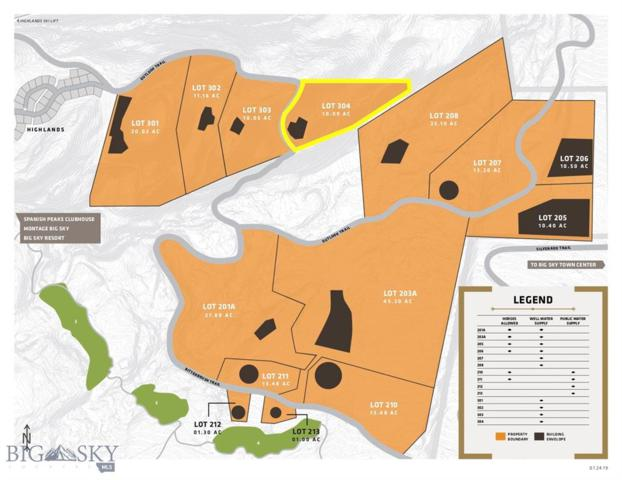 Lot 304 Outlook Trail, Big Sky, MT 59716 (MLS #337520) :: Black Diamond Montana