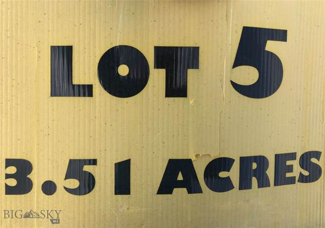 LOT 5 Colters Run Sub., Three Forks, MT 59752 (MLS #338420) :: Hart Real Estate Solutions