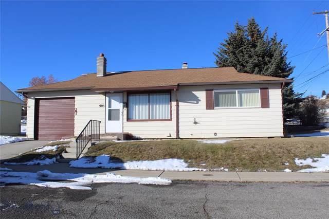905 Fourteenth Street, Butte, MT 59701 (MLS #340326) :: Black Diamond Montana
