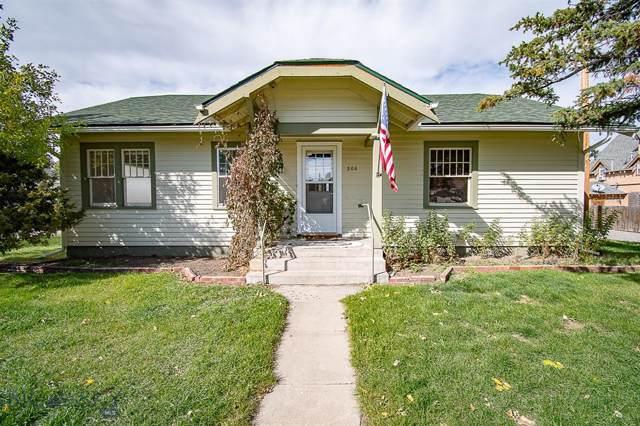306 E 3rd, Big Timber, MT 59011 (MLS #340385) :: Hart Real Estate Solutions