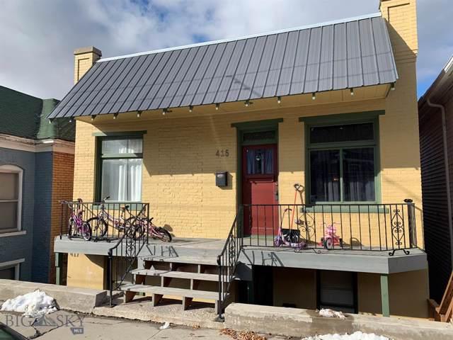 415 N Washington, Butte, MT 59701 (MLS #340483) :: Hart Real Estate Solutions