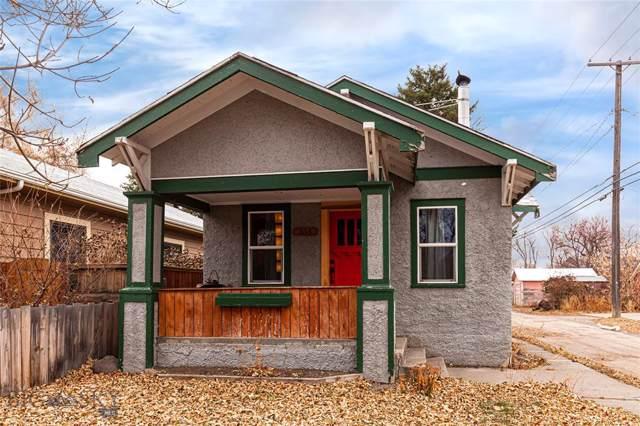 314 N 5th Street, Livingston, MT 59047 (MLS #340769) :: Hart Real Estate Solutions