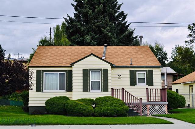 824 W Chinook St., Livingston, MT 59047 (MLS #340879) :: Black Diamond Montana