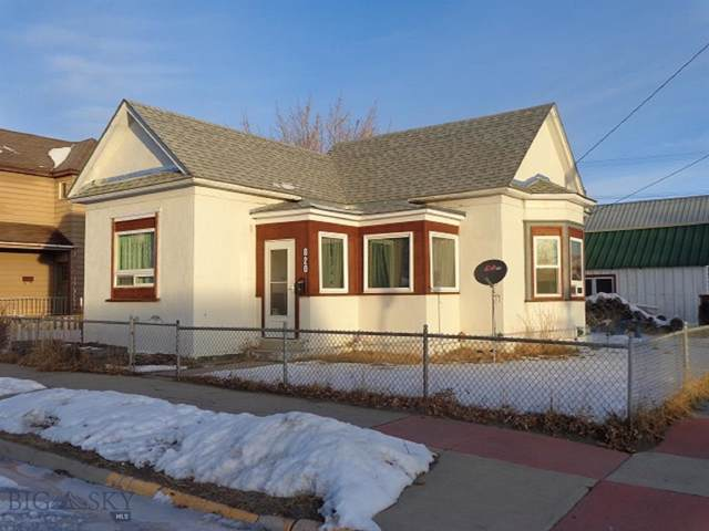 820 E 4th, Anaconda, MT 59711 (MLS #341250) :: Hart Real Estate Solutions