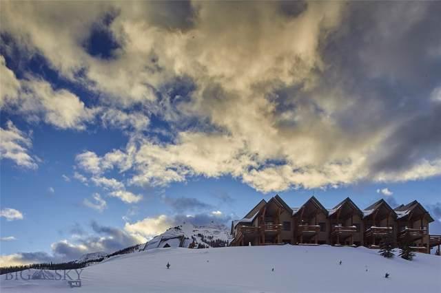 5 Saddle Ridge Road K2, Big Sky, MT 59716 (MLS #341361) :: Hart Real Estate Solutions