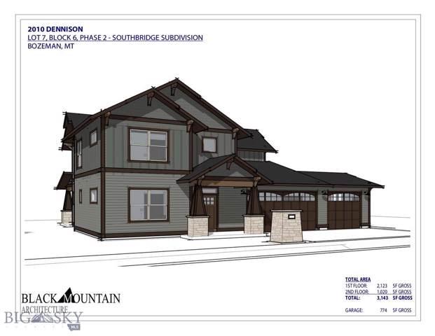 2010 Dennison Lane, Bozeman, MT 59718 (MLS #341632) :: Black Diamond Montana