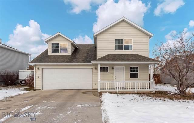 2519 Lily Drive, Bozeman, MT 59718 (MLS #341823) :: Hart Real Estate Solutions