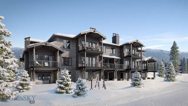 13 Wildwood Road W #15, Big Sky, MT 59716 (MLS #342146) :: Black Diamond Montana