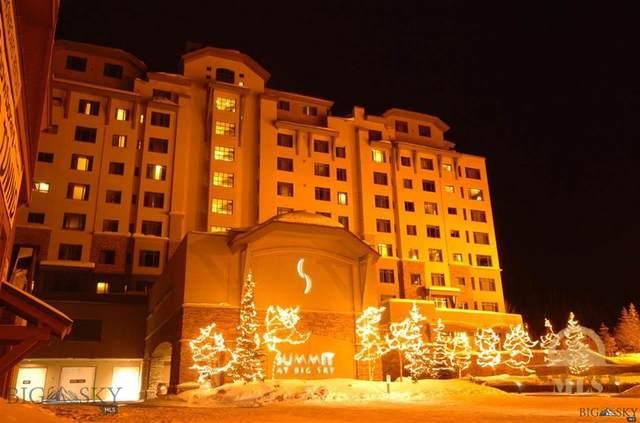 60 Big Sky Resort Road 10710, Big Sky, MT 59716 (MLS #342773) :: Montana Life Real Estate