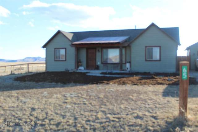 65 Red Shoulder Lane, Three Forks, MT 59752 (MLS #344032) :: Hart Real Estate Solutions
