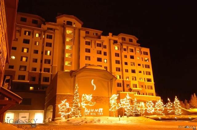60 Big Sky Resort Road #10908, Big Sky, MT 59716 (MLS #344052) :: Hart Real Estate Solutions