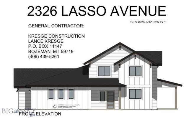 2326 Lasso, Bozeman, MT 59718 (MLS #344173) :: Hart Real Estate Solutions